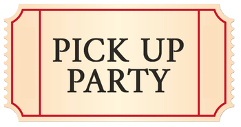 Pick Up Party Sun Nov 3 Guest Ticket