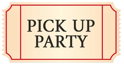 Pick Up Party Sun Nov 3 Member Ticket